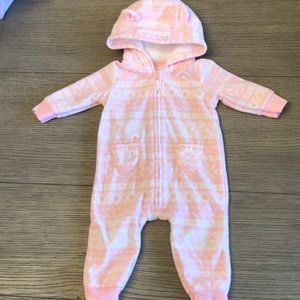 Fleece Hooded Bodysuit